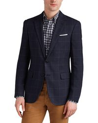 Ralph Lauren Purple Label - Windowpane Two-button Sportcoat - Lyst