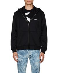 8a421d2c2 KENZO - Studded-dragon Cotton-blend Terry Hoodie - Lyst