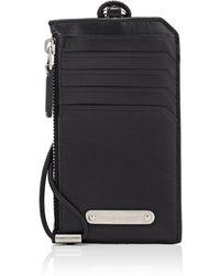 Saint Laurent - Leather Lanyard Card Case - Lyst