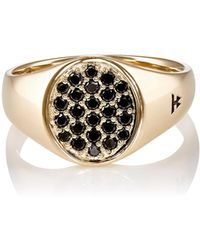 Tom Wood - Mini-oval-faced Signet Ring - Lyst
