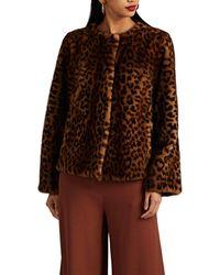 Barneys New York Leopard - Brown
