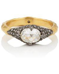 Cathy Waterman - Moghul Diamond Ring - Lyst