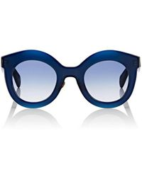 Kaleos Eyehunters Shawer Sunglasses - Blue