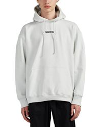 Vetements - Logo-print Oversized Cotton Hoodie - Lyst