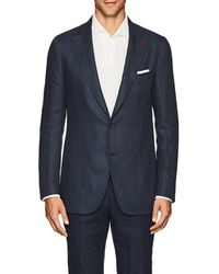 Isaia - Dustin Linen Two-button Sportcoat - Lyst