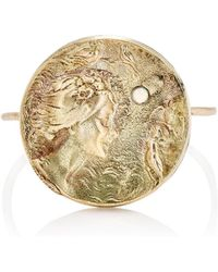 Julie Wolfe - Coin Wire Ring - Lyst