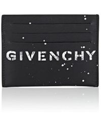 Givenchy - Stenciled Leather Card Case - Lyst
