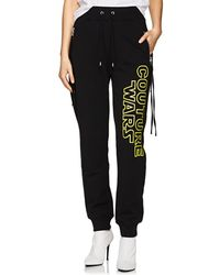 Moschino - couture Wars Cotton Jogger Pants - Lyst