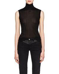 Givenchy - Rib-knit Sleeveless Top - Lyst
