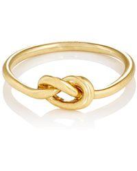 Finn - Love Knot Ring - Lyst