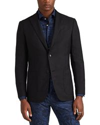 Eidos - Linen-cotton Two-button Sportcoat - Lyst