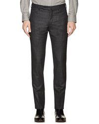 Incotex - S-body Slim Wool Trousers - Lyst