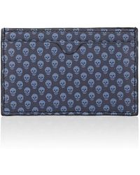 Alexander McQueen - Coated Canvas Card Case - Lyst
