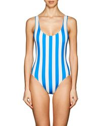Solid & Striped - The Anne-marie Stripe Swimsuit - Lyst