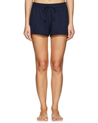 Skin - Orella Pima Cotton Shorts - Lyst