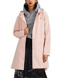 Stutterheim Mosebacke Raincoat - Pink