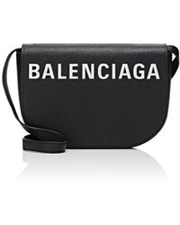 Balenciaga - Ville Day Leather Crossbody Bag - Lyst
