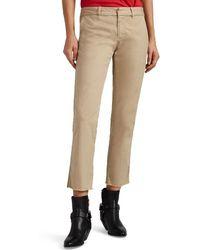 Nili Lotan East Hampton Cotton Trousers - Natural