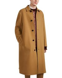 Jil Sander Oversized Melton Topcoat - Multicolor