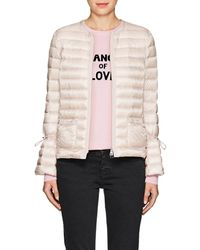 0c04ad138 Moncler Almandin Quilted Shell Down Jacket in Black - Lyst