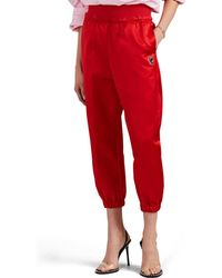 Undercover - Silk Satin Jogger Trousers - Lyst