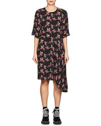 Public School - Rima Floral Asymmetric Dress - Lyst
