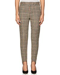 Y. Project - Plaid Wool Skinny Trousers - Lyst