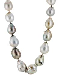 Linda Lee Johnson - Baroque Pearl Necklace - Lyst