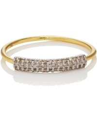 Ileana Makri Half Crown Ring Size 6