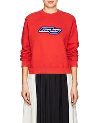 Fiorucci - Bowie Cotton Fleece Sweatshirt - Lyst
