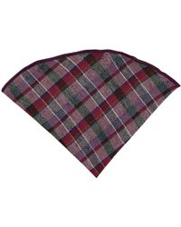 Alexander Olch - Plaid Wool Pocket Round - Lyst