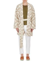 The Elder Statesman - Folkloric Cashmere Short Robe - Lyst