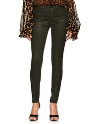 L'Agence - Margot Coated High - Lyst