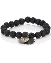 Miracle Icons - Spiritual Icon Charms On Beaded Bracelet - Lyst