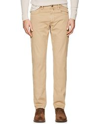 Incotex - Ray 5-pocket Cotton Twill Trousers - Lyst
