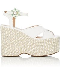 Marc Jacobs | Rowan Leather Espadrille Sandals | Lyst