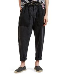 Isabel Marant - Nigel Cotton Chambray Trousers - Lyst
