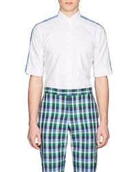 Thom Browne - Checked-back Cotton Button-down Shirt - Lyst