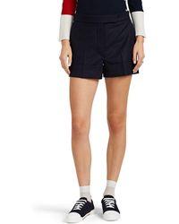 Thom Browne - Wool Cuffed Shorts - Lyst