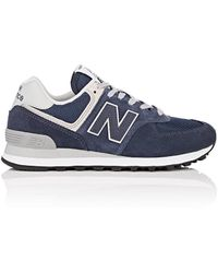 New Balance - 574 Classic Suede & Mesh Sneakers - Lyst