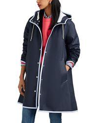 Stutterheim Mosebacke Raincoat Size Xxxs - Blue