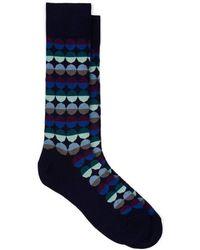 Paul Smith - Sunset Spot Cotton-blend Mid-calf Socks - Lyst