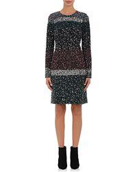 J. Mendel - Silk Embellished Shift Dress - Lyst