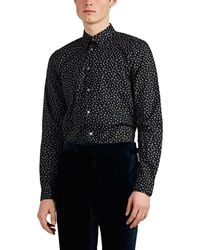 PS by Paul Smith - Floral Cotton Poplin Shirt - Lyst