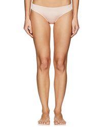 Hanro - Fleur Satin & Lace Bikini Briefs - Lyst