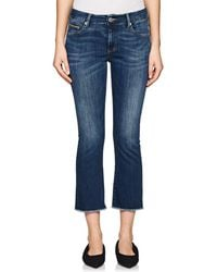 Care Label - Cigarette Crop Flared Jeans - Lyst