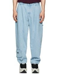 Gosha Rubchinskiy - Pleated Carpenter Jeans - Lyst