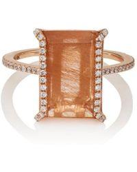 Monique Péan - Rutile & White Diamond Ring - Lyst