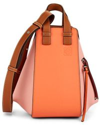 Loewe - Hammock Small Leather Bag - Lyst