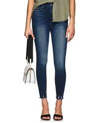 FRAME - Ali High Rise Skinny Jeans - Lyst